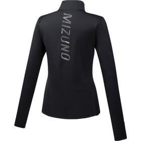 Mizuno Vortex Warmalite Half-Zip LS Women, black
